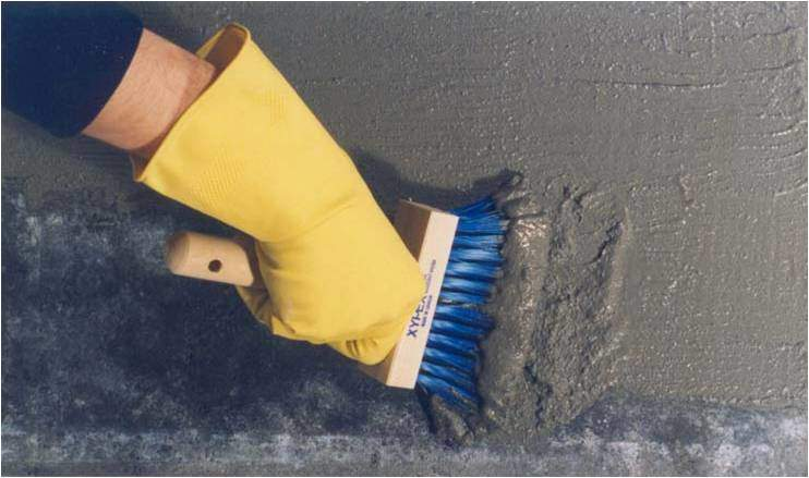 Xypex Application | Basement Wall Sealing and Waterproofing in Michigan | RC Waterproofing