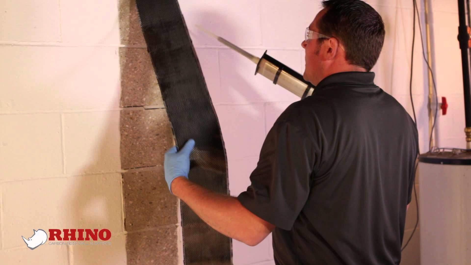 Installing Carbon Fiber Reinforcer | RC Waterproofing | Michigan