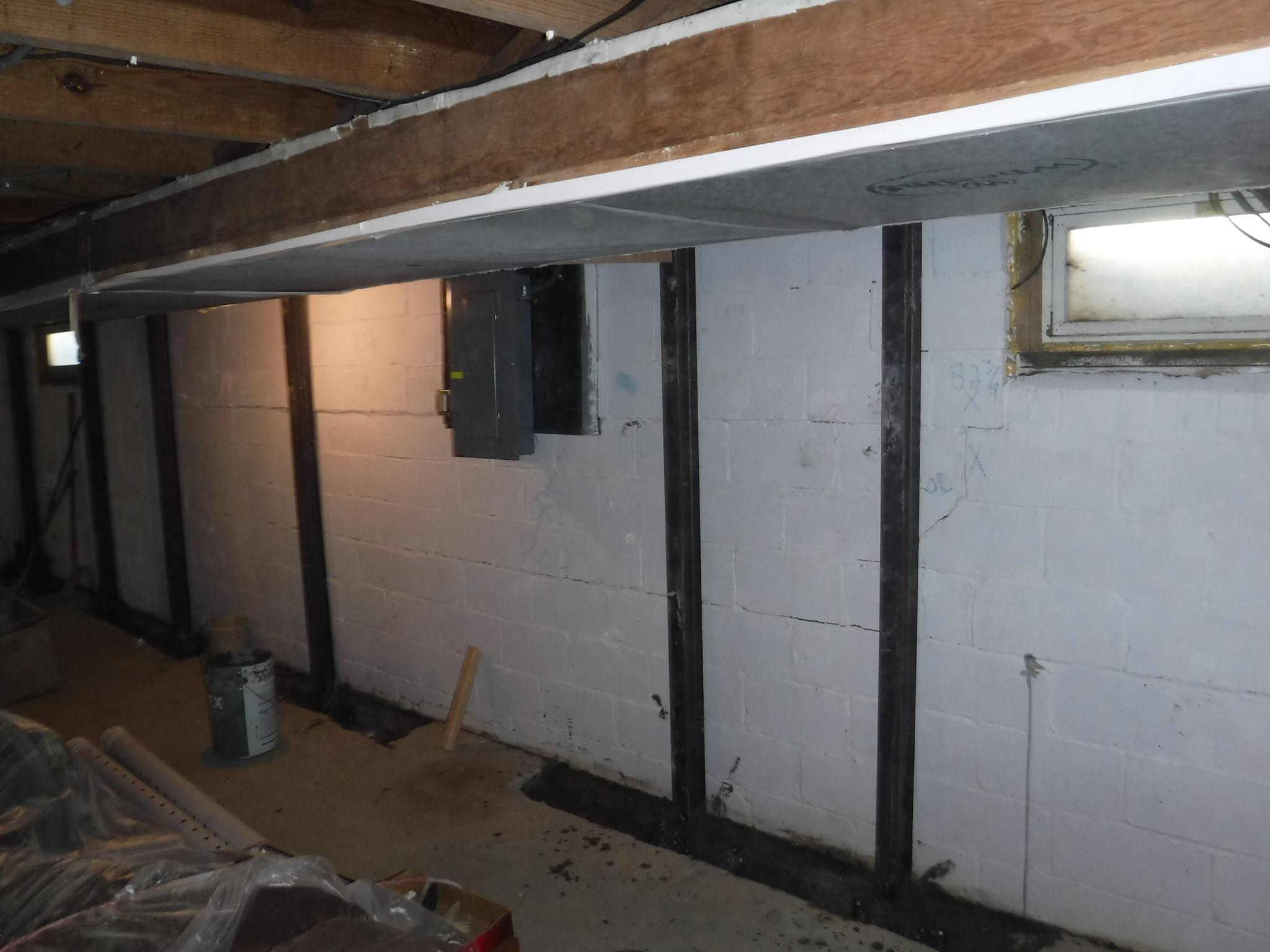 RC Waterproofing | Wall Stabilization in Michigan | Gorilla Wall Braces