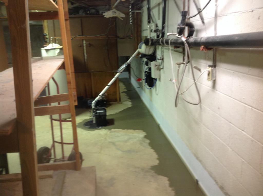 RC Waterproofing | Sump Pump Systems | Finished Sump Pump