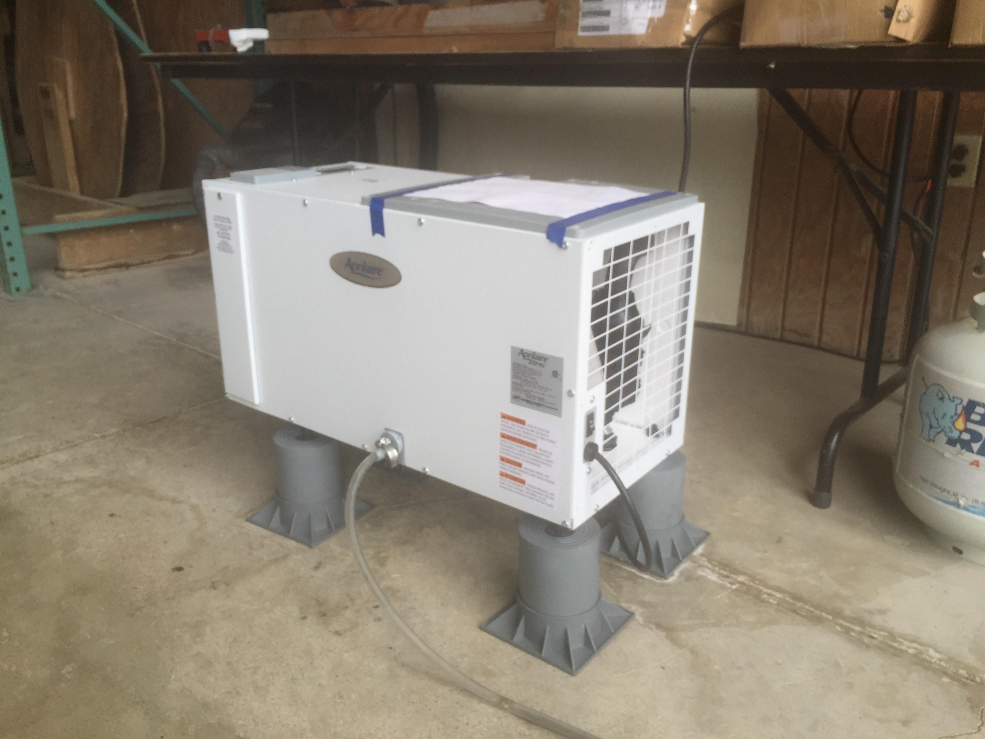 RC Waterproofing | Crawl Space Dehumidifiers in Michigan